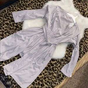 Bump in the night stripped robe